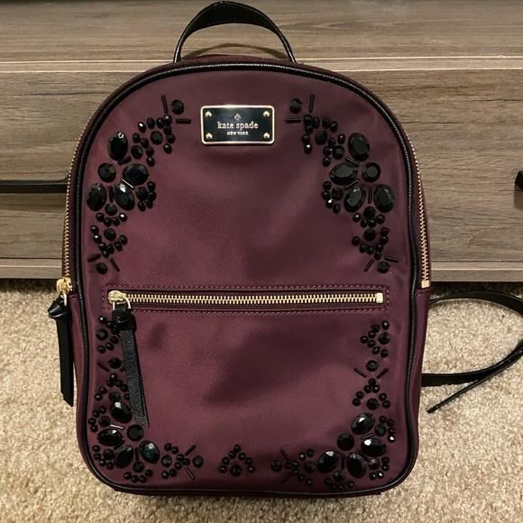 Kate Spade Embellished Small Bradley Backpack